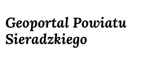 Geoportal Powiatu Sieradzkiego
